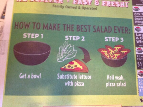 How to make best salad ever?